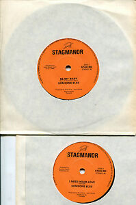 rare-Funk-Soul-Single-SOMEONE-ELSE-7-034-Be-My-Baby-UK-Stagmanor-Records-1982