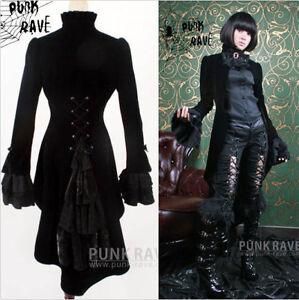 Hot-sale-Y334N-Punk-Rave-Visual-Kera-Dolly-Gothic-Unisex-Luxury-Jacket-Coat