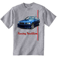 BMW 318-IS INSPIRED - NEW AMAZING GRAPHIC GREY TSHIRT S-M-L-XL-XXL