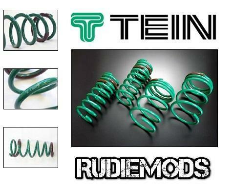 TOYOTA STARLET EP 90-91 1996-99 COUPE FRONT /& REAR LOW COIL SPRINGS