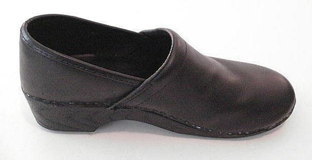 L.L. BEAN Nursing Doctor Occupational Clogs Leather schuhe damen Größe 40 8.5 9