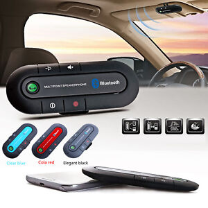 CAR-WIRELESS-BLUETOOTH-HANDS-FREE-HIFI-MOBILE-PHONE-SPEAKER-FOR-IPHONE-SAMSUNG