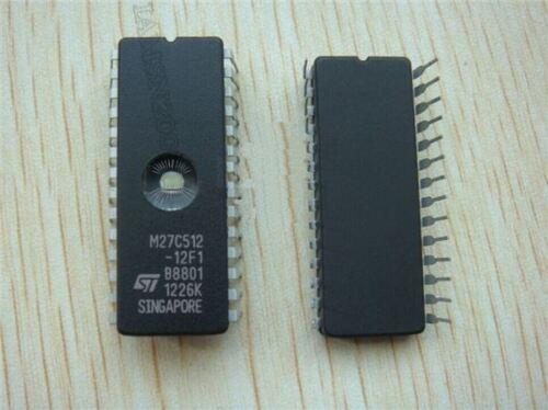 5 Stücke M27C512 M27C512-12F1 DIP-28 St Dat Code 10 wk