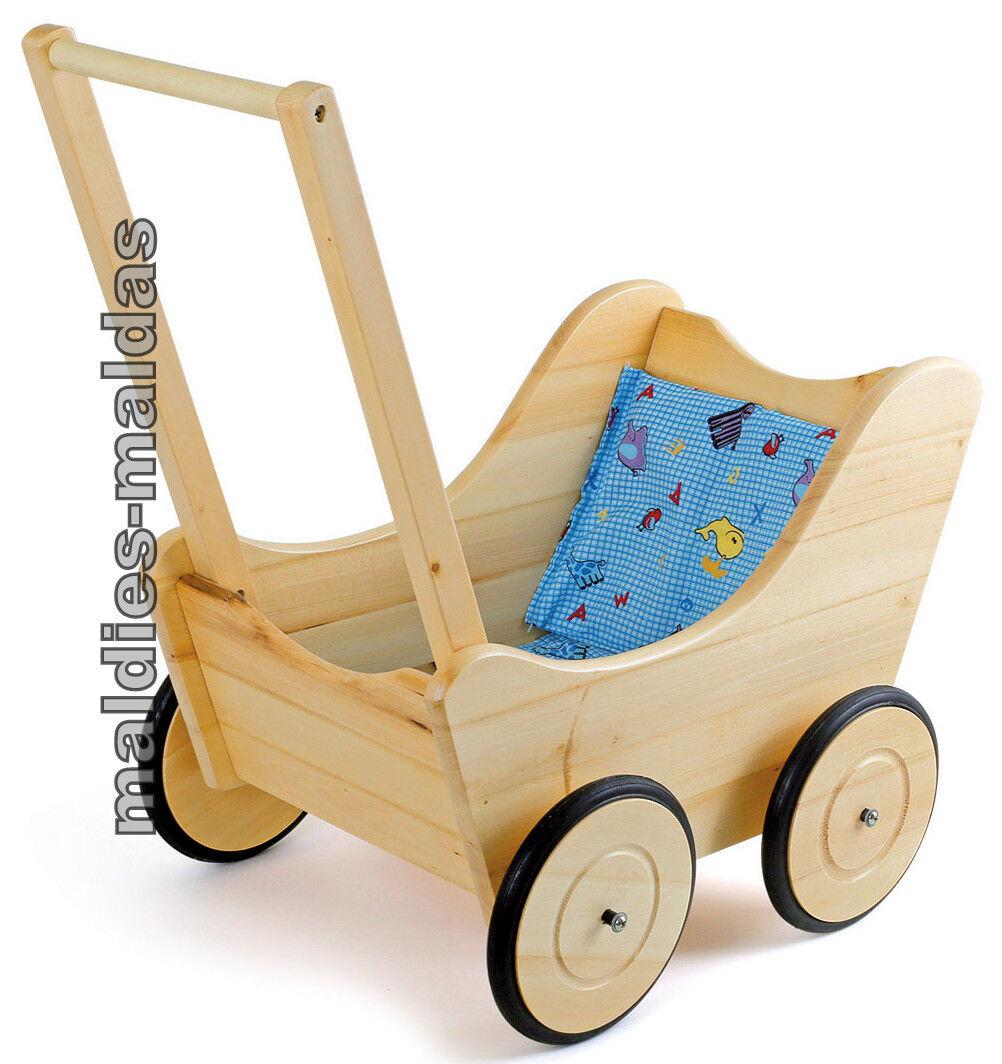 Lauflernwagen Puppenwagen Nostalgie NEU OVP Spielwagen