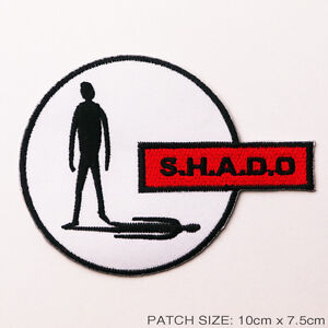 UFO-SHADO-Crew-Uniform-Embroidered-Patch-Gerry-Anderson-S-H-A-D-O