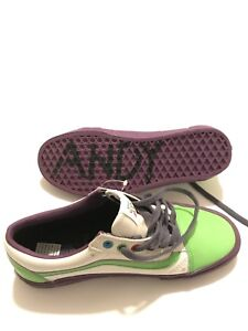 SAMPLES - Disney Vans Old Skool Toy Story Buzz Lightyear ANDY Mens ... a5e73d878238