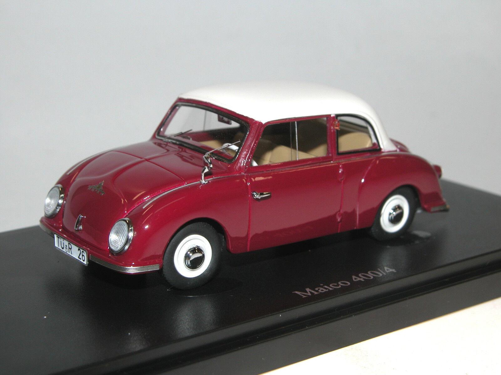 Autocult 03006, 1955 400 4 Maico, micro car, Bubble car, Limited Edition 1 43