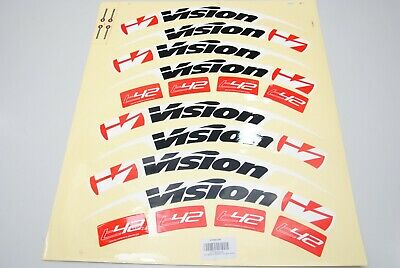 adesivi decalcomanie zipp 404 2012 Style Firecrest nero set per 2 ruote 12 pezzi