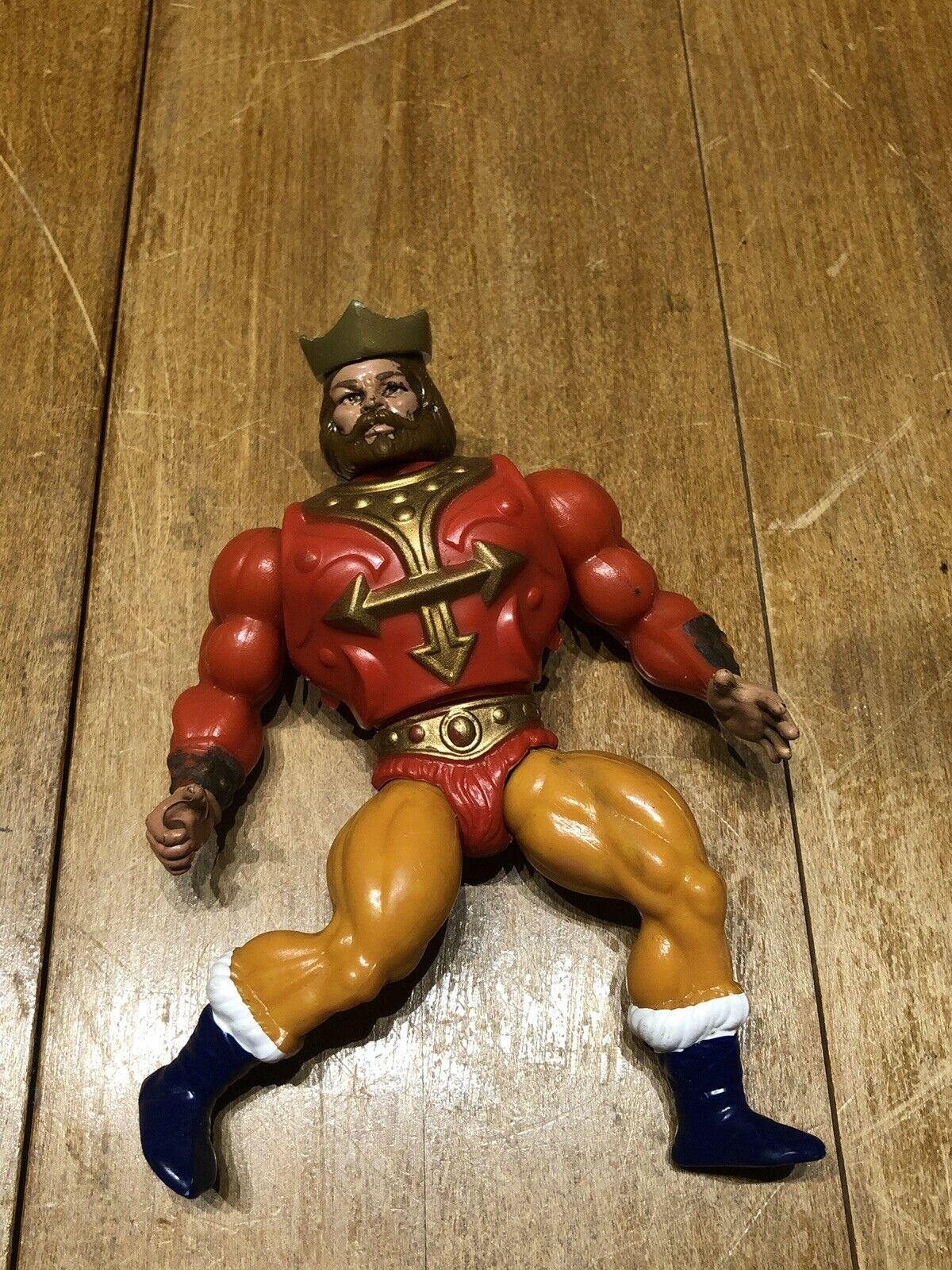 Vintage Mattel 1987 He-Man MOTU King Randor Masters of the Universe