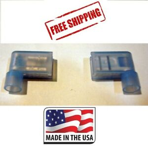 100 16-14 NYLON #10 RING TERMINAL ELECTRICAL CONNECTOR MADE IN USA FREE SHIP