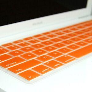 ORANGE-Silicone-Keyboard-Cover-Skin-for-Macbook-13