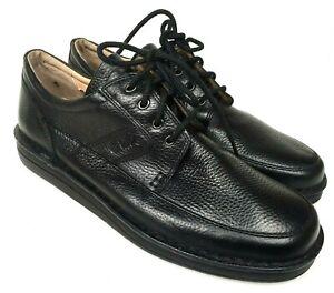 clark's black leather mobile 32145 casual oxfords men's