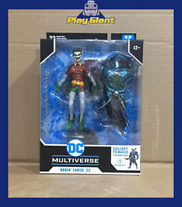 DC Multiverse Wave 2 Robin Crow 7-Inch Scale Action Figure Close MouthNEW