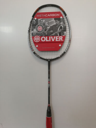 NEU OLIVER Flexter PC Badminton Racket bespannt mit Vollthermohülle