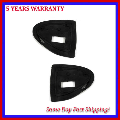 For Mercedes S350 S430 S65 AM 00-06 W220 Door Mirror Base Seal Left /& Right Set