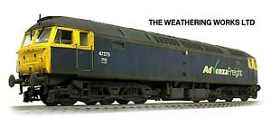 Boxed-Heljan-Advenza-Freight-Class-47-375-REPAINTED-WEATHERED-LOOK-DCC-Ready