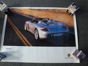 2002 Porsche 911 Carrera Design Showroom Advertising Poster RARE Awesome L@@K