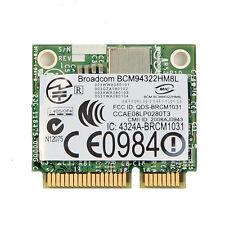 Broadcom BCM94322HM8L BCM4322 2.4G/5G 300Mbps WiFi 802.11ABGN Mini PCI-E Card