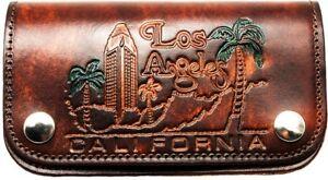 Portefeuille-en-Cuir-Californie-la-Chaine-Metal-Motard-Porte-Monnaie-Made-In-USA