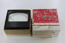 Vintage Triplett Model 450 Meter FS= 5 Volts NOS NEW