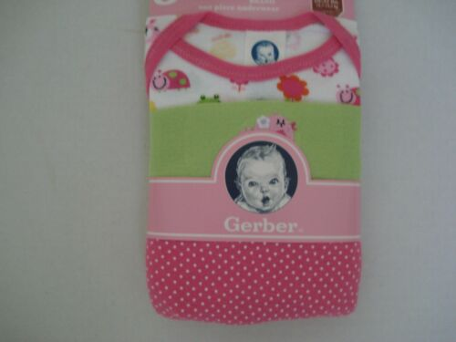 24 mos NWT Gerber Baby Girl/'s 3 Piece Onepiece Size 18 mos