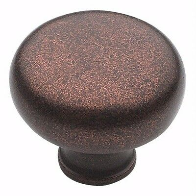Amerock BP771-RBZ Traditional Classics Rustic Bronze Round Cabinet Hardware Knob