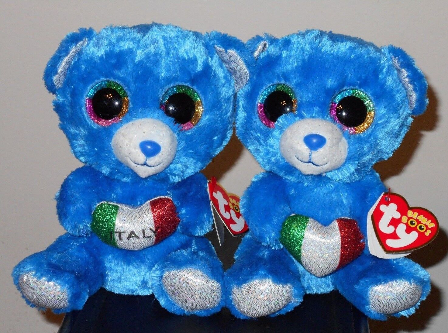 Ty Beanie Boos Set  ROMEO the Bears 6  ( Exclusive) MINT with MINT TAGS
