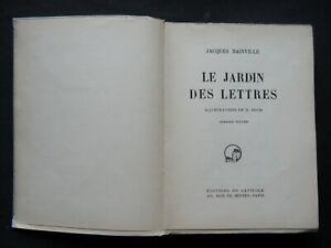 LE-JARDIN-DES-LETTRES-PAR-JACQUES-BAINVILLE-ILLUSTRATIONS-G-GOOR-NUMEROTE