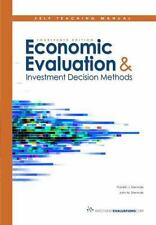 Self Teaching Manual for the textbook Economic Evaluation and Investment Decisio