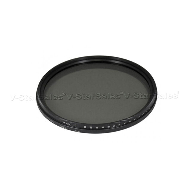 Vivitar 58mm Neutral Density Variable Fader NDX Filter ND2 to ND1000 VNDX-58