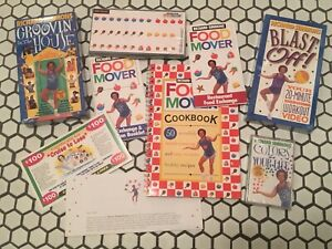 Vtg-MINT-Richard-Simmons-Food-Mover-System-Diet-Weight-Loss-Program-VHS