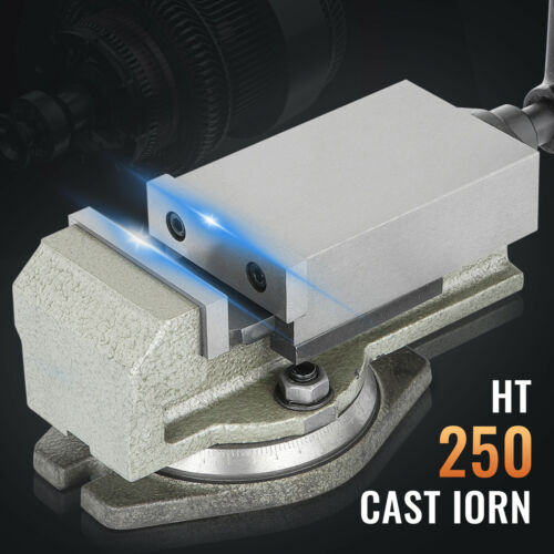 3/'/' Precision Mill Vise w// Swivel Base Milling Drilling Machine Bench Clamp
