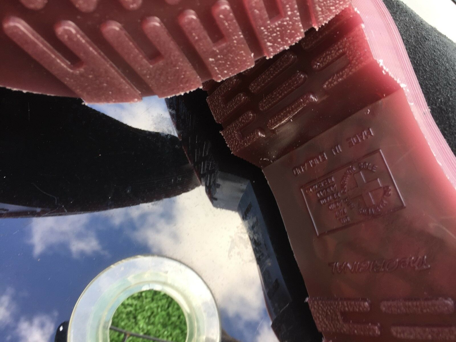 DR Martens 1461 1461 1461 neri in pelle scamosciata deserto Oasi in Pelle EU 39 Made in England 90f5db