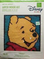 """Pooh Latch Hook Kit WP0001 Approx Size 13"""" x or 33 CM New Craft Supplies"""