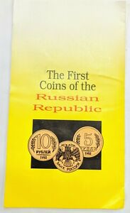 1992-First-Coins-Russian-Republic-Uncirculated-Set-of-6-in-Folder