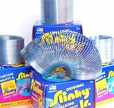 Lot 4~Small Original Slinky Jr.Metal Spring Toys/gift Stocking Stuffer