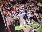 Aaron Hernandez autographed 8x10 photo New England Patriots w Logan Mankins