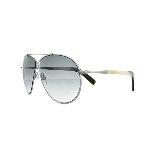 9267a9141d2 Tom Ford Sunglasses Women Aviator TF 374 Gunmetal 15b Eva 61mm for ...