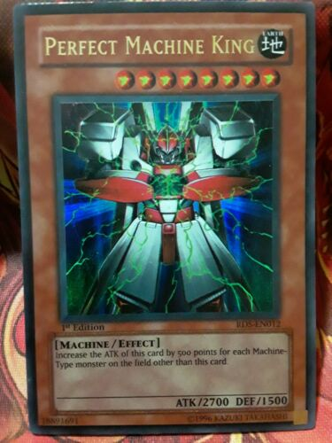 Yugioh Perfect Machine King Ultra Rare RDS 1st Edition Lightly Played
