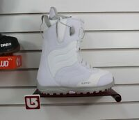 2017 Burton Mint Womens Snowboard Boots Size 9 White And Gray