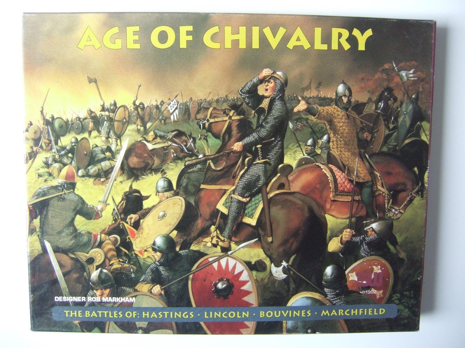 Era della Cavalleria-Hastings, Lincoln, Bouvines, marchfield da 3W-integro