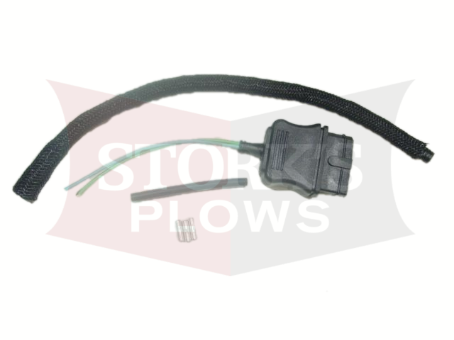 3 pin plow side plug repair end 26359 western fisher pump plug wiring  harness