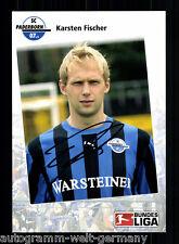 Karsten Fischer SC Paderborn 2007-08 TOP AK + A 56614