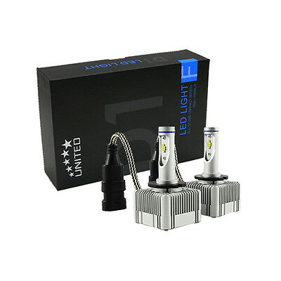 Fit All D1S D1C D1R 80W 9000LM/Set OEM Luxeon Zes LED Kit Low Beam Headlights