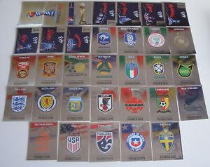 PANINI-Femmes-Coupe-du-monde-2019-France-glitzersticker-special-Sticker-au-choix