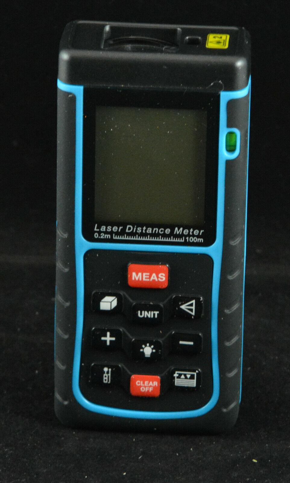 Digitaler Laser Entfernungsmesser Entfernungsmessgerät Distanzmesser 100M