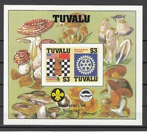 Tuvalu-Scott-cat-352-A-Chess-amp-Rotary-IMPERF-s-sheet-with-Scout-Logo