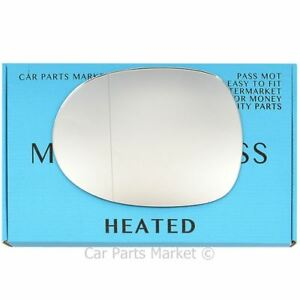Left side Wide Angle Wing door mirror glass for Honda Civic 200611 heated - Redruth, United Kingdom - Left side Wide Angle Wing door mirror glass for Honda Civic 200611 heated - Redruth, United Kingdom