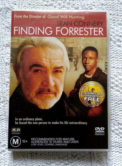 FINDING FORRESTER – DVD, REGION-4, LIKE NEW, FREE POST IN AUSTRALIA