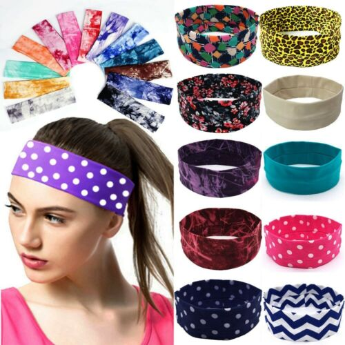 Cycling Yoga Sport Headband Sweatband Men Women Yoga Hair Bands HeadSweat Bands